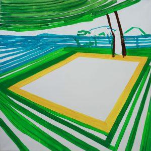 Landscape 4-6 2009 100cm x 100cm Acrylic, Canvas – Copy (2)