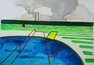 Reminiscences 2-11 2009 110cm x 160cm Acrylic, Canvas