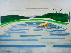 Reminiscences 3-11 2010 150cm x 200cm Acrylic, Canvas – Copy