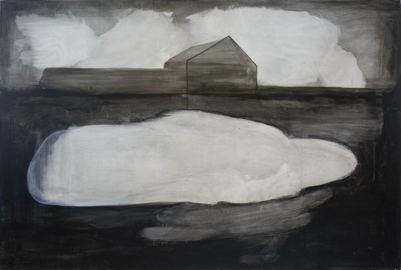 Reminiscences 6-11 2010 100cm x 150cm Acrylic, Canvas