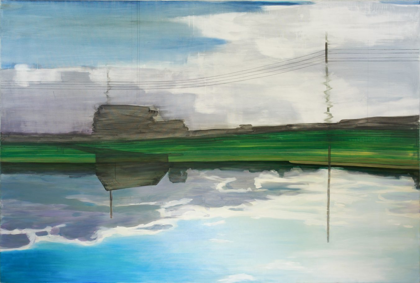 Reminiscences 11-11 (Summer) 2011 135cm x 200cm Acrylic, Canvas