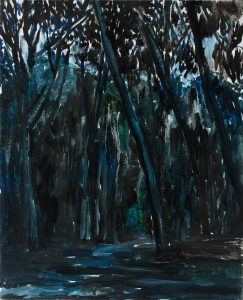 Forest 2-2 41×33 2013 Oil canvas