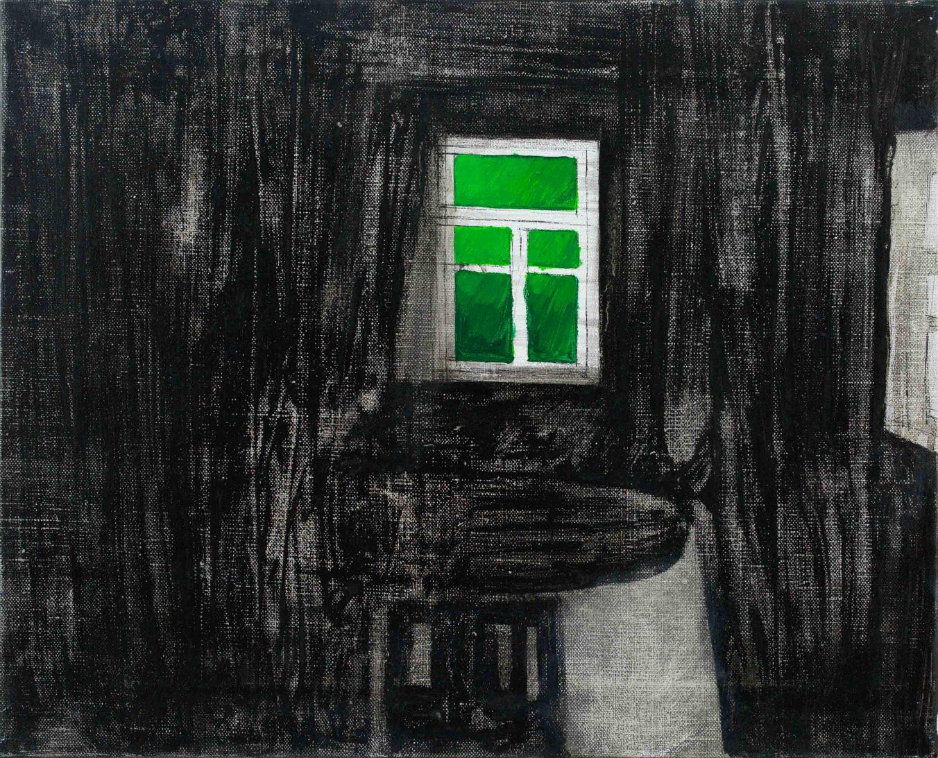 Inside 1-2 2013 33×41 Oil canvas