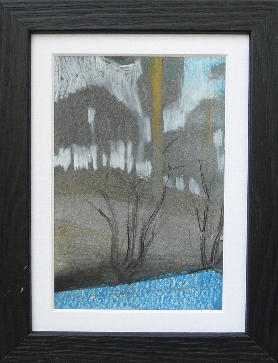 Miniatures 2. Ink, oil, pastel, paper. 15x10cm. 2013-2