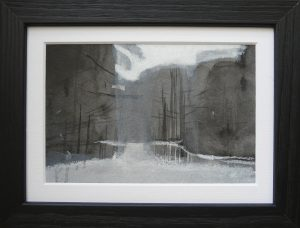 Miniatures 6. Ink, oil, pastel, paper. 10x15cm. 2013-2