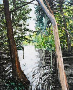 Lakesides 1-6201535cm x 28cm Acrylic canvas
