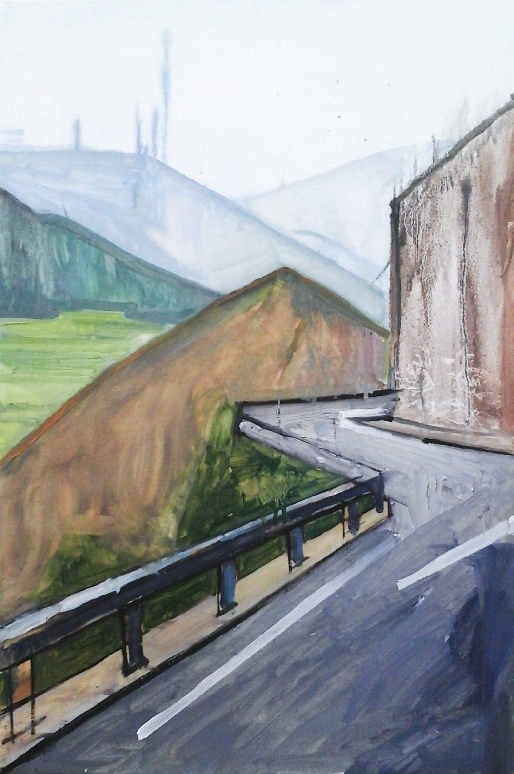 Andorra 3-6 2016 60×40 Oil canvas. Privat