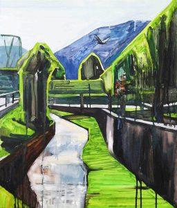 Andorra 4-6 2016 70×60 Oil canvass. Privat c