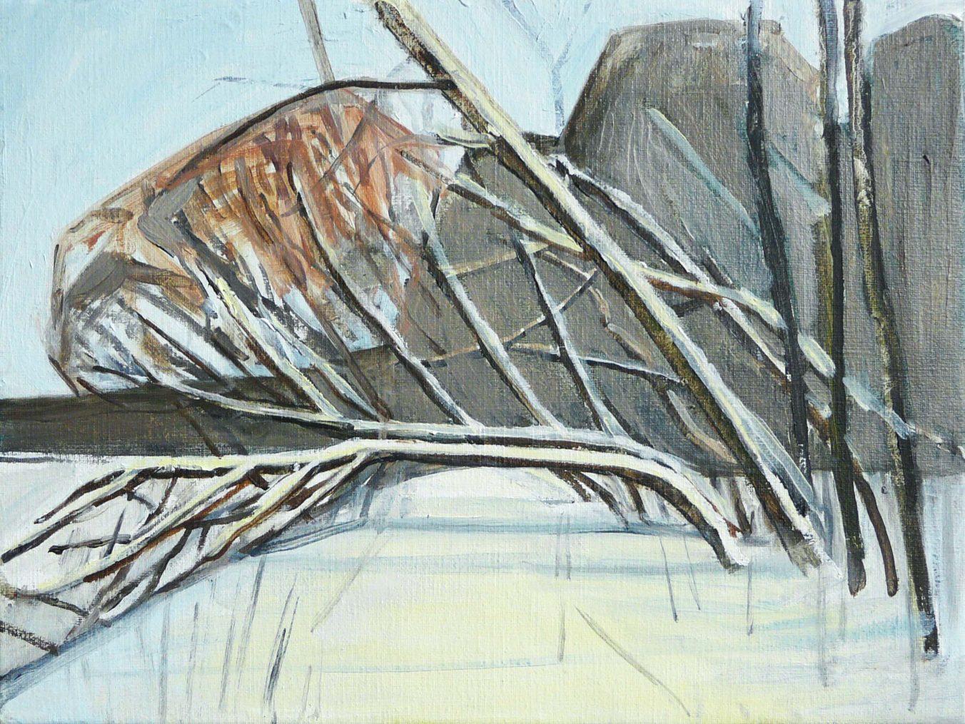 Riverside winter 5 2016. Oil, canvas. 30 x 40 cm..JPG