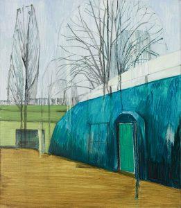 Pavilion. Oil, canvas. 80x69cm. 2016