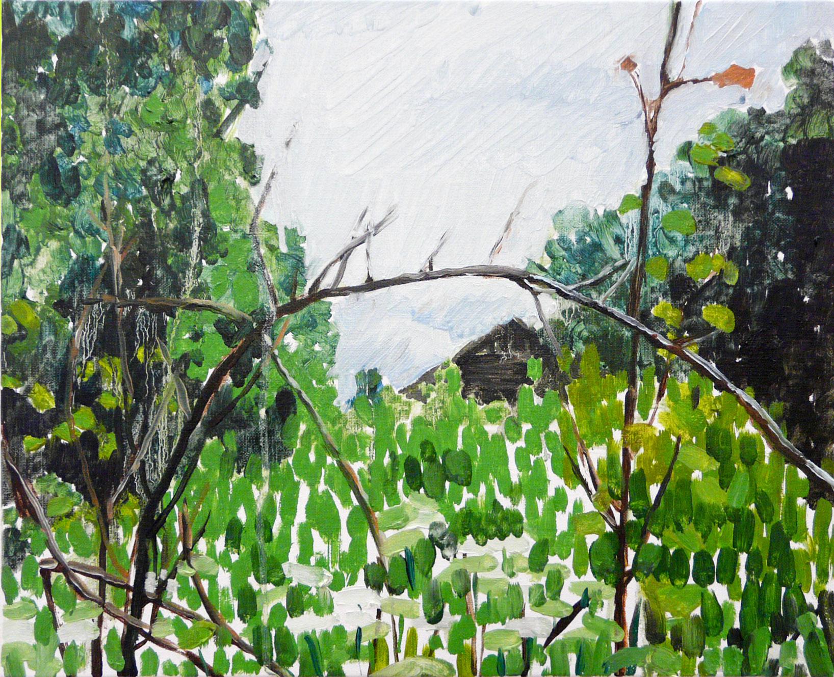 Revisiting 3-1-6. Oil, canvas. 33x41cm. 2013