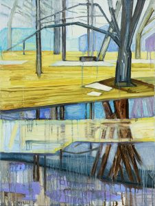 Saari 5-14. Oil, canvas. 80x60cm. 2017