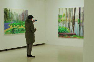 Solo show at Klaipėda exhibition palace (photo: Rūta Petniūnaitė)