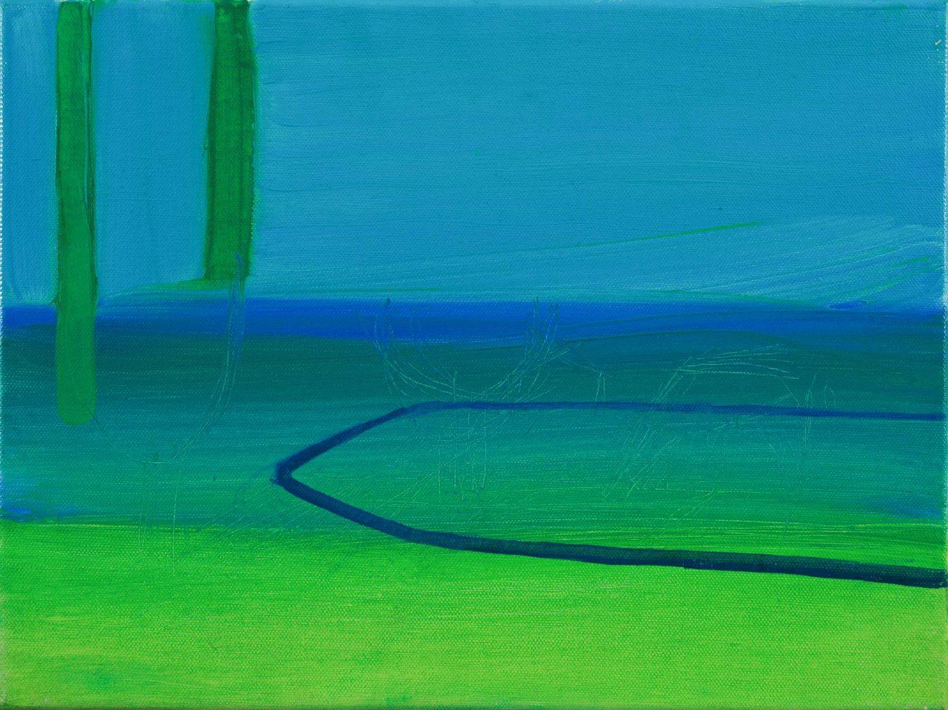 2D 5-5 2008 30cm x 40cm Oil, Canvas