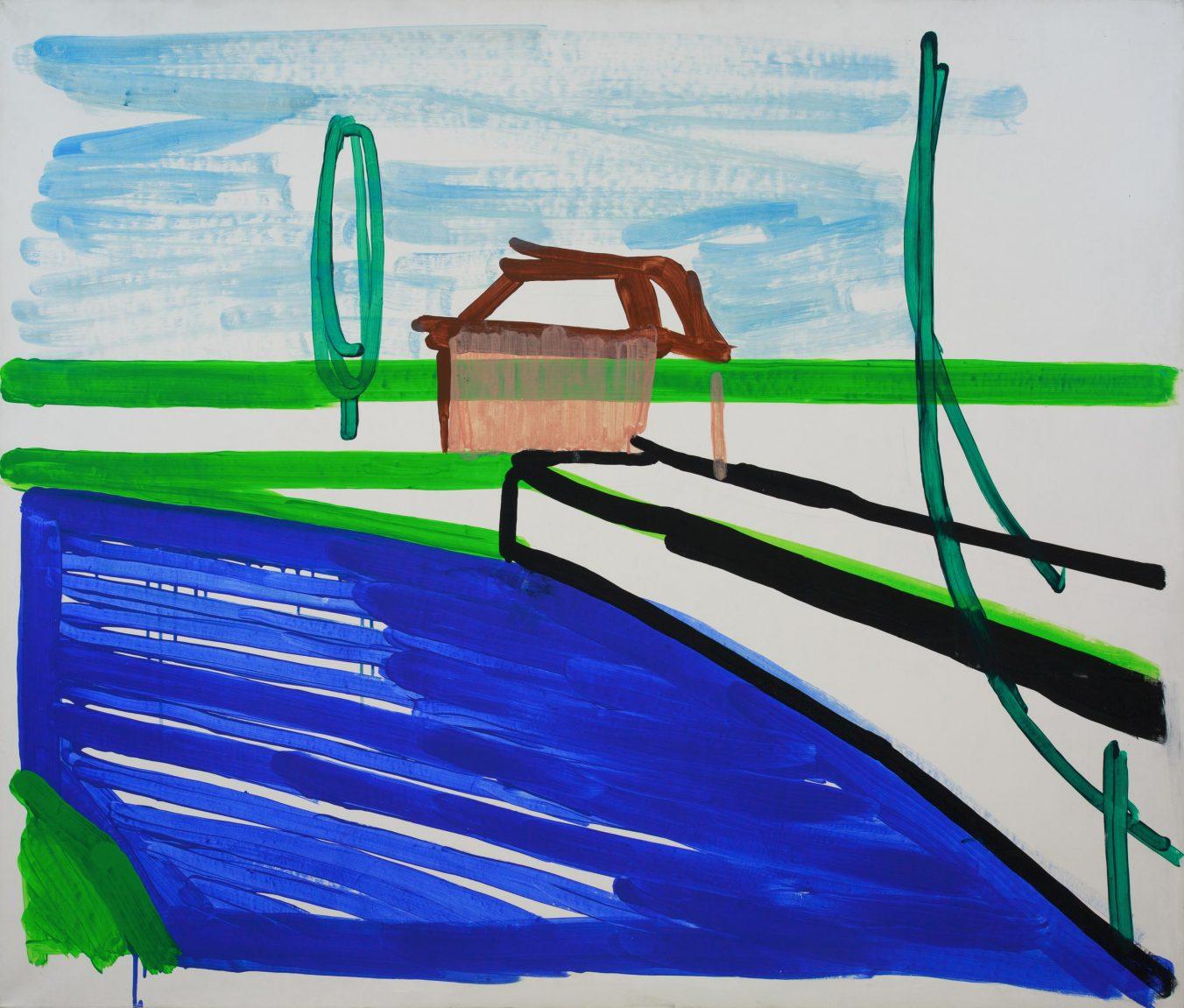 Landscape 1-6 2009 110cm x 130cm Acrylic, Canvas