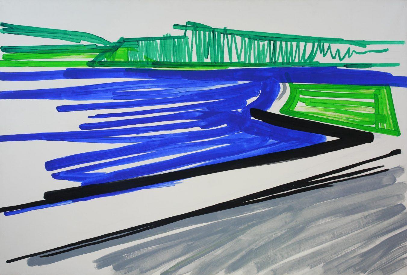 Landscape 2-6 2009 100cm x 150cm Acrylic, Canvas