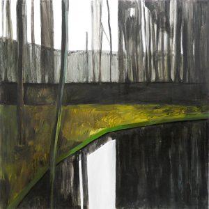 Winterscapes 11-13 2012 100×100 oil canvas