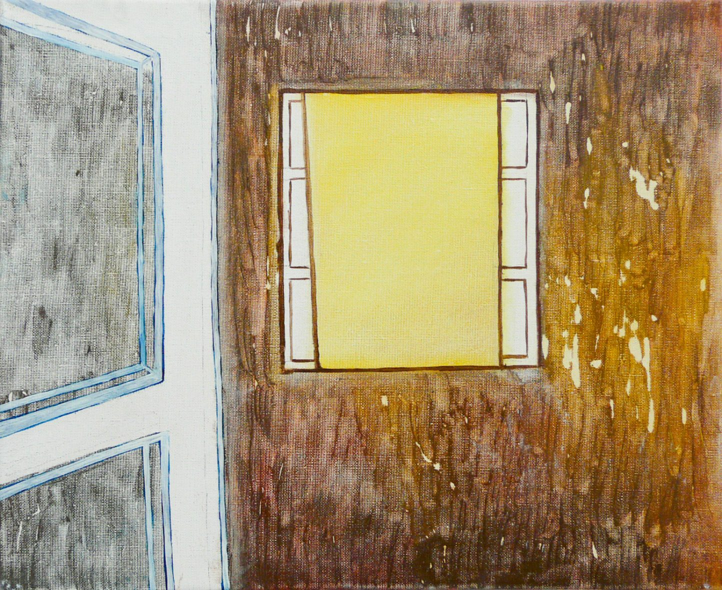 Inside 2-2. Oil, canvas. 38x47cm. 2013-2