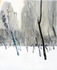 Trees 1-4 2013 41 cm x 33 cm Oil Canvas – Copy