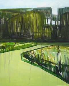 Green Landscape 10-10_2015_50 x 40cm