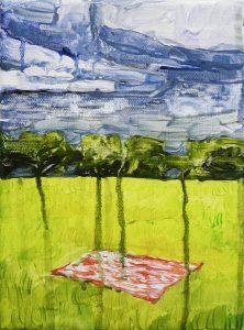 Meadow 3-3 2015 21×15 Acrylic Canvas