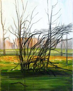 Outskirts autumn 1-6 2015 50×40 Acrylic Canvas