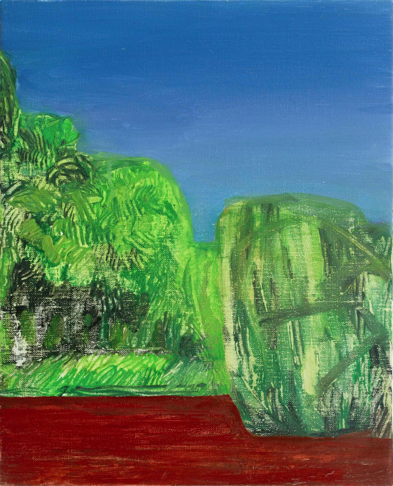 Riverside2015 41cm x 33cm Oil Canvas – Copy (2)