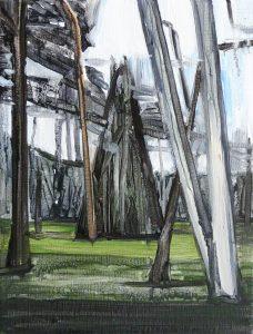 Forestside 2-2 (b), 2016. Oil, canvas. 40 x 30 cm.JPG