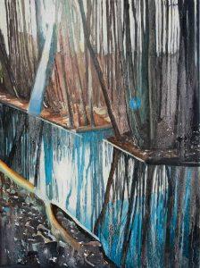 Roadside 2. Oil, canvas. 40x30cm. 2016 – full size