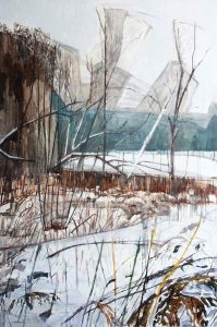 Thicket – winter, 2016. 120 x 80 cm. Oil, canvas – Copy