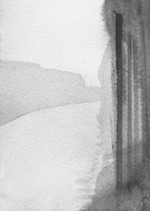 B&W vertical 1-22 2014-2015 15 cm x 10,5 cm Ink, paper