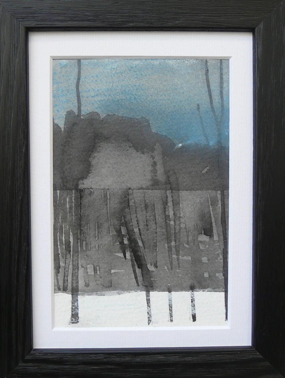 Miniatures 4. Ink, oil, pastel, paper. 15x10cm. 2013