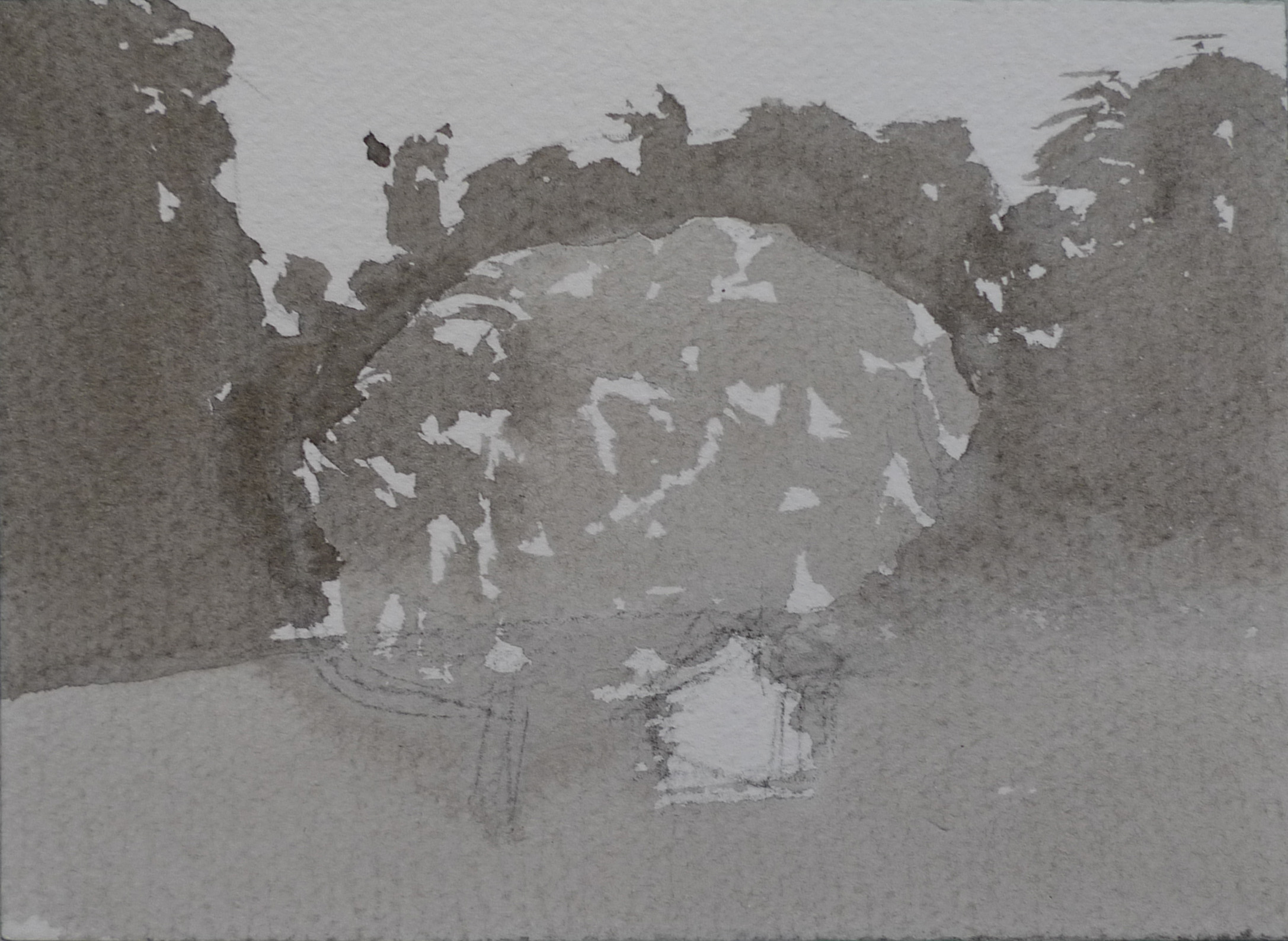 Moments 12-13. Ink, paper. 10x15cm. 2012