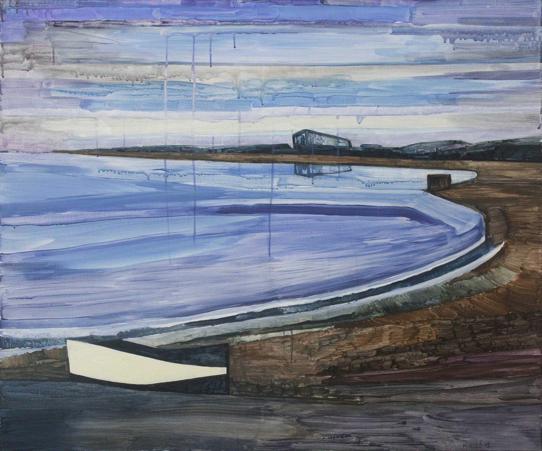 Seaside 3-4. Acrylic, canvas. 100x120cm. 2017