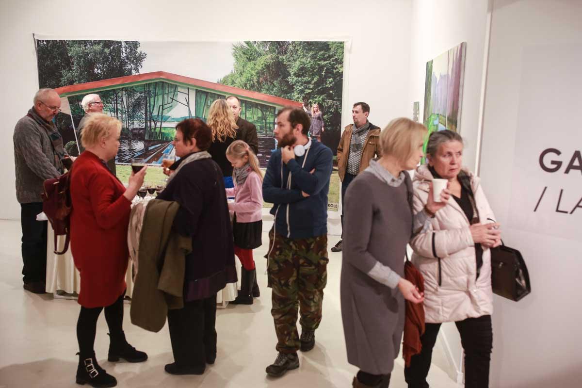 Solo show at Klaipėda exhibition palace