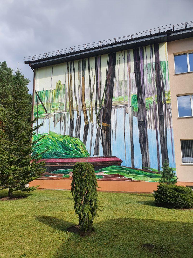 Sienos tapyba Ignalinoj